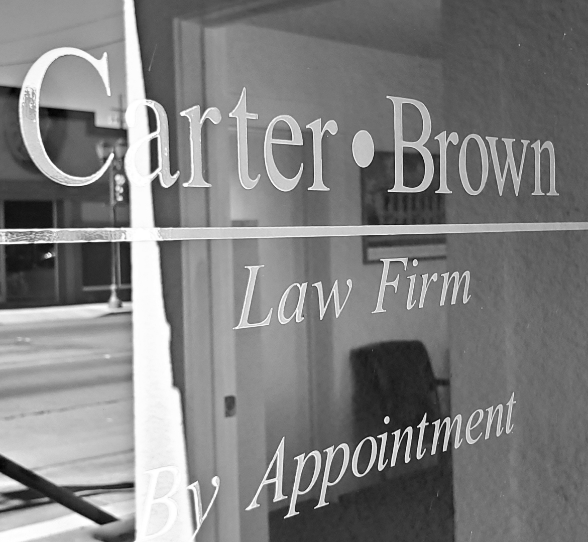 Picture of Carter Brown office